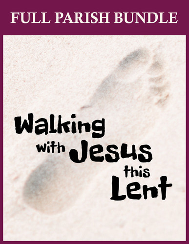 [Walking with Jesus this Lent] Walking with Jesus This Lent (eResource): Parish Bundle - BEST VALUE!