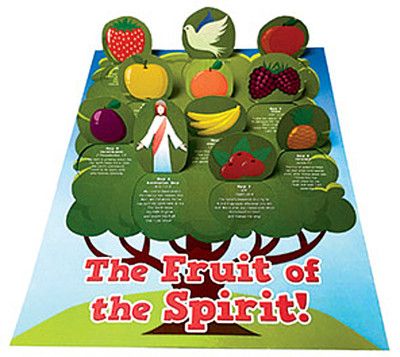 Pentecost - Fruit Of The Spirit: A Pop-Up Window Calendar