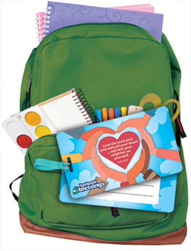 [Backpack Blessings] 2021 Backpack Blessings Kit - Love Your Neighbor!: Includes 10 Family Sets