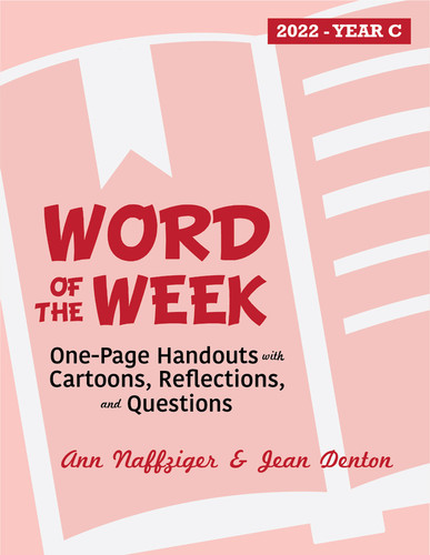 Word of the Week 2022 (eResource): One-Page Bulletin Inserts with Cartoons, Reflections, and Questions of the Week