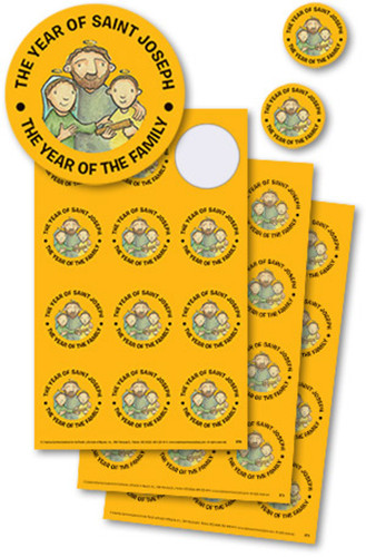 Year of St Joseph Stickers: Set of 108