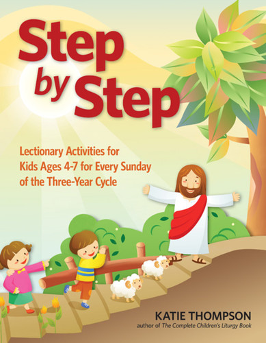 Step by Step: Lectionary Activity Book for Kids (ages 3-7)