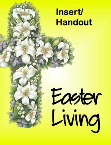 Easter Living - Vida de Pascua (Handout): Bulletin Insert/Handout