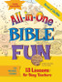 [All-in-One Bible Fun series] Heroes of the Bible: 13 Lessons for Busy Teachers - Preschool