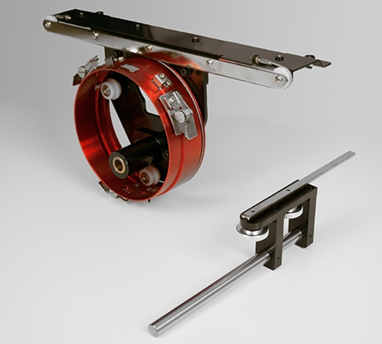 Red Wide Angle Cap Frame Driver