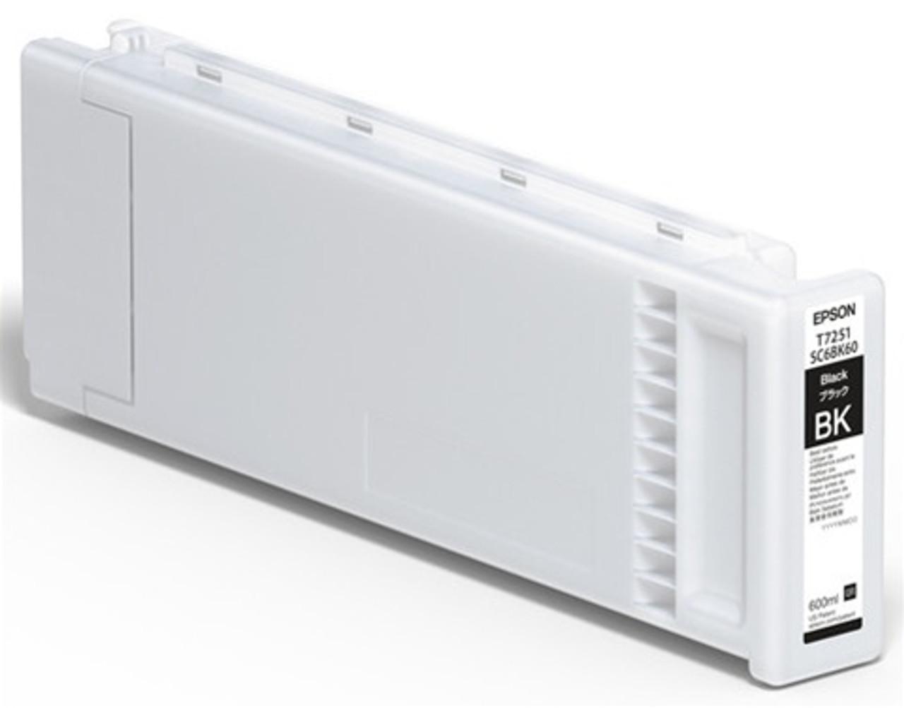 Epson F2100/F2000 Ink Cartridge, BLACK 600ML