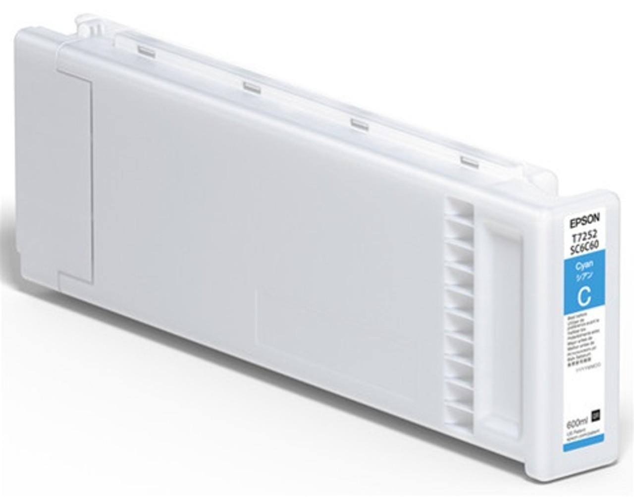 Epson F2100/F2000 Ink Cartridge, CYAN 600ML