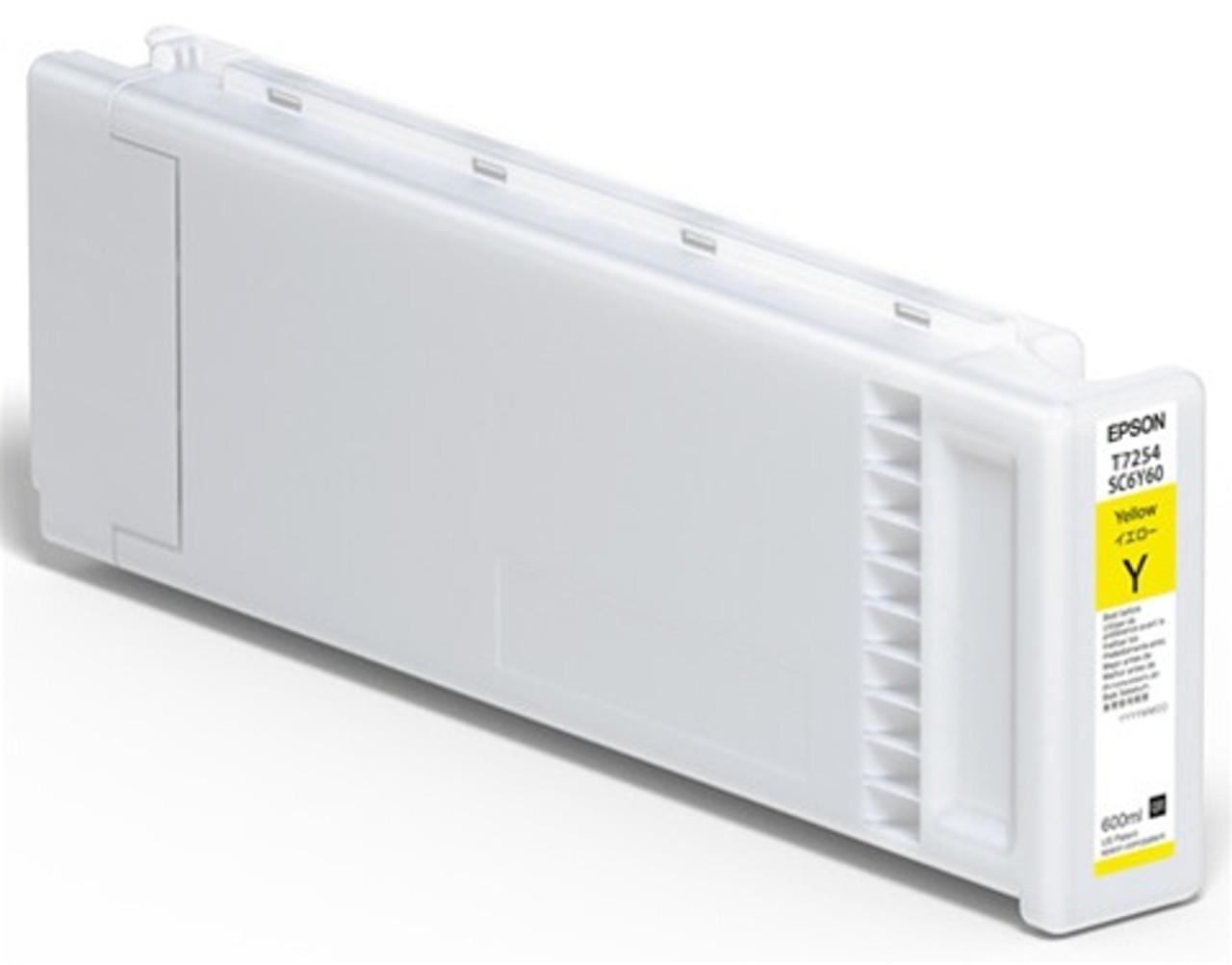 Epson F2100/F2000 Ink Cartridge, YELLOW 600ML
