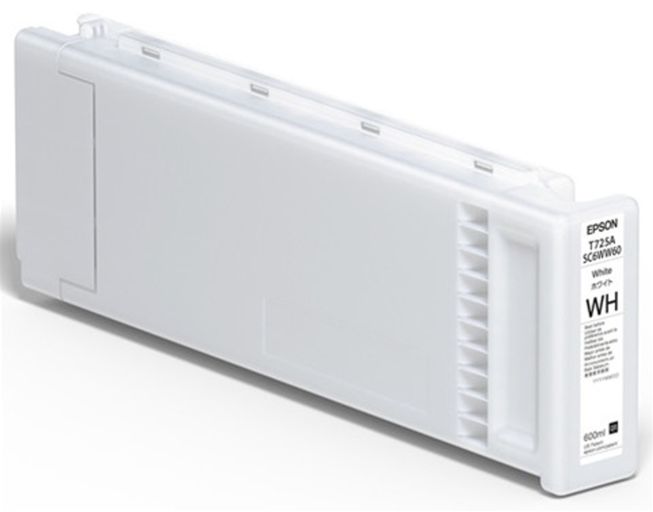 Epson F2100/F2000 Ink Cartridge, WHITE 600ML