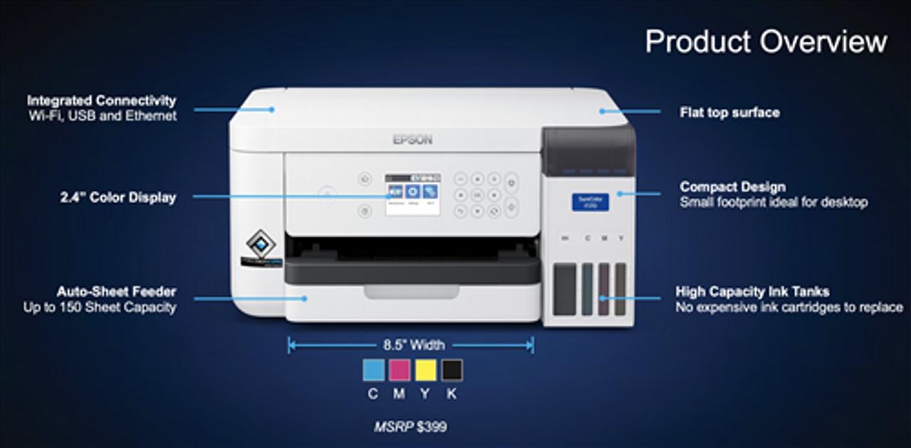 Epson F170 Dye Sub Printer