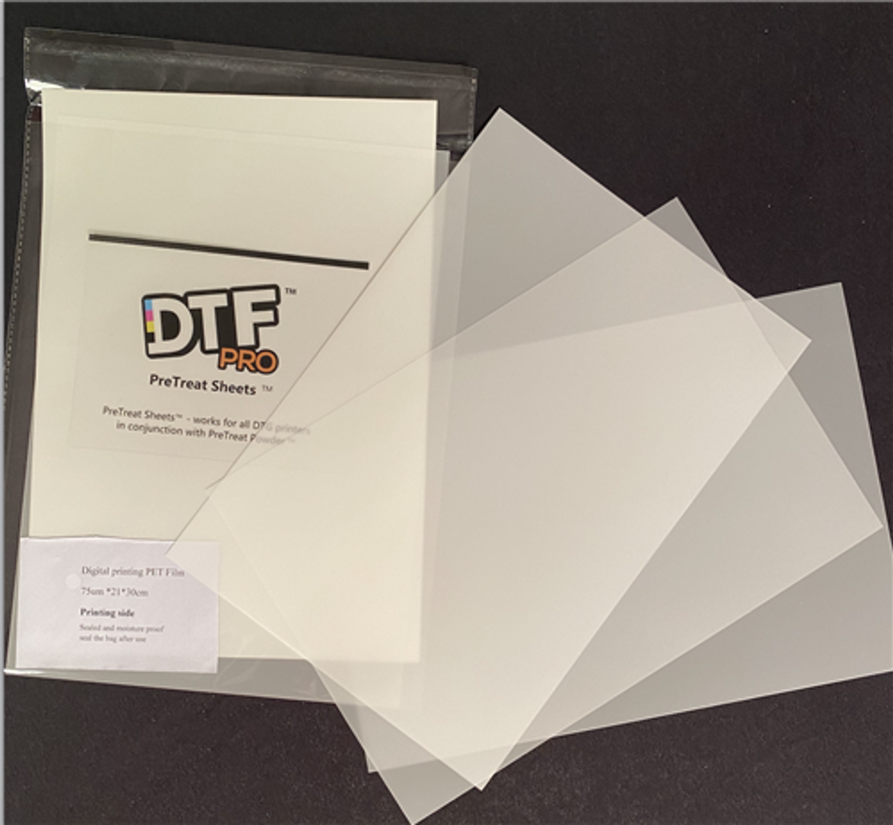 DTG Transfer Sheets (20) 8.3x11.7 - 35717