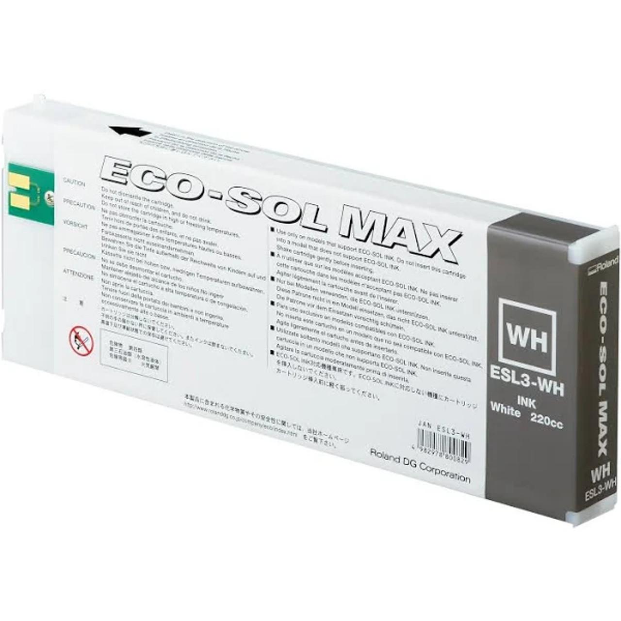Roland Eco-Sol 220cc Ink White