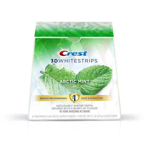 Crest 3D Whitestrips Arctic Mint | Crest White Smile