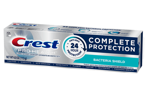 Crest Pro-Health Complete Protection Toothpaste, Bacteria Shield