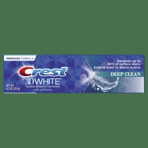 Crest 3D White, Whitening Toothpaste Deep Clean