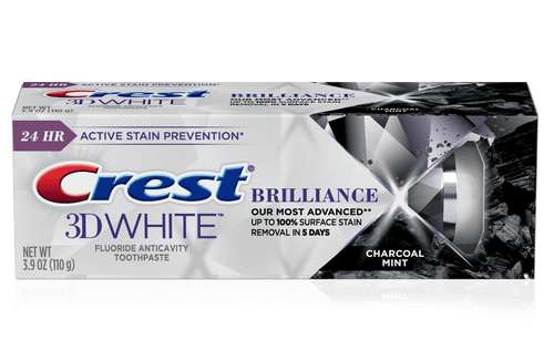 Crest 3D White Brilliance Charcoal Toothpaste