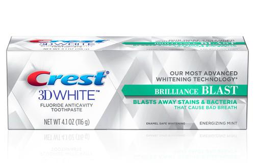 Crest 3D White Brilliance Blast Whitening Toothpaste