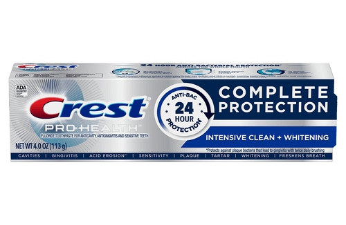 Crest Pro-Health Complete Protection Toothpaste, Intensive Clean + Whitening
