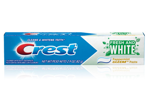 Crest Fresh & White Peppermint Paste Toothpaste