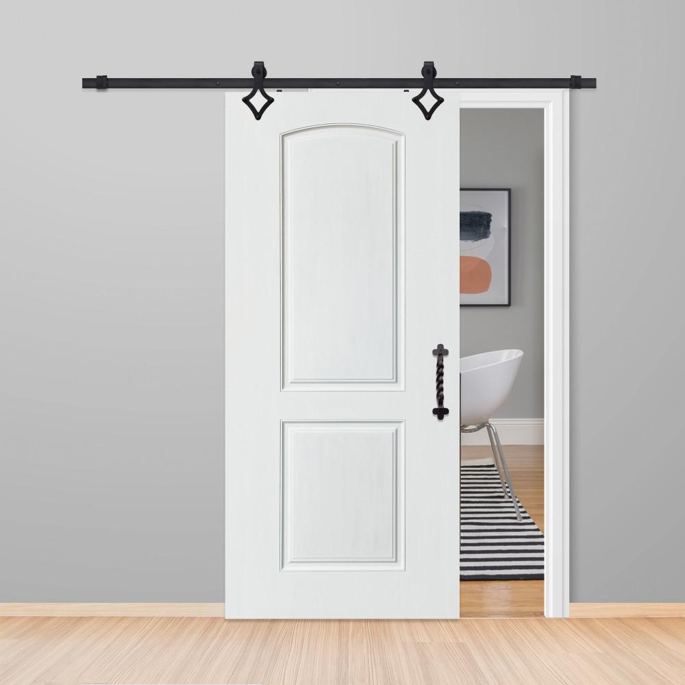 Solid 2 Panel Barn Door