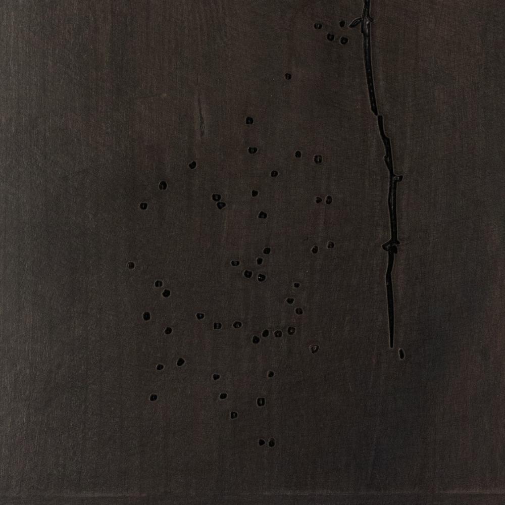 Distressed Slate Gray Finish Sample