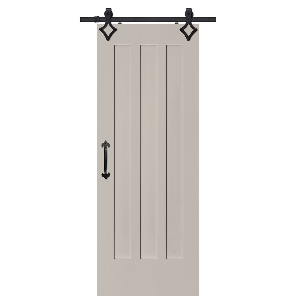 Craftsman 3 Panel Barn door