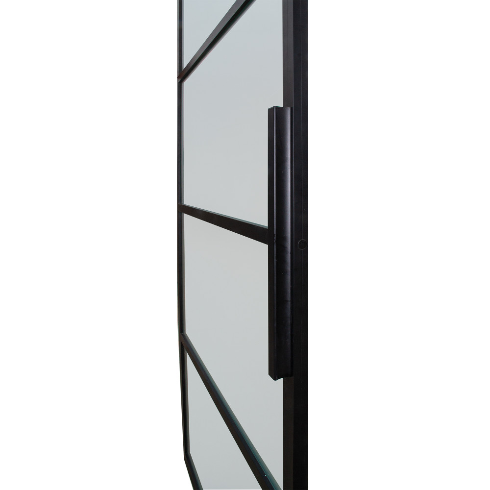 Modern French 4 Lite Barn Door