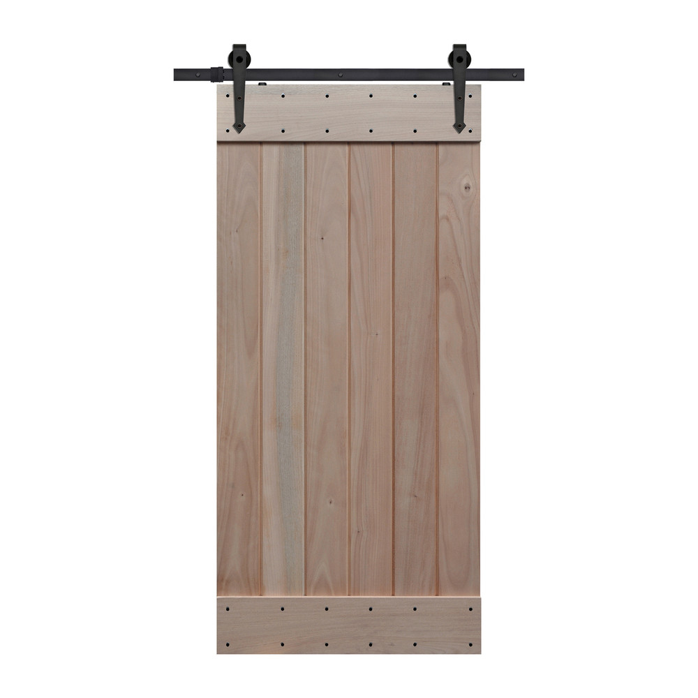 barncraft plank barn door