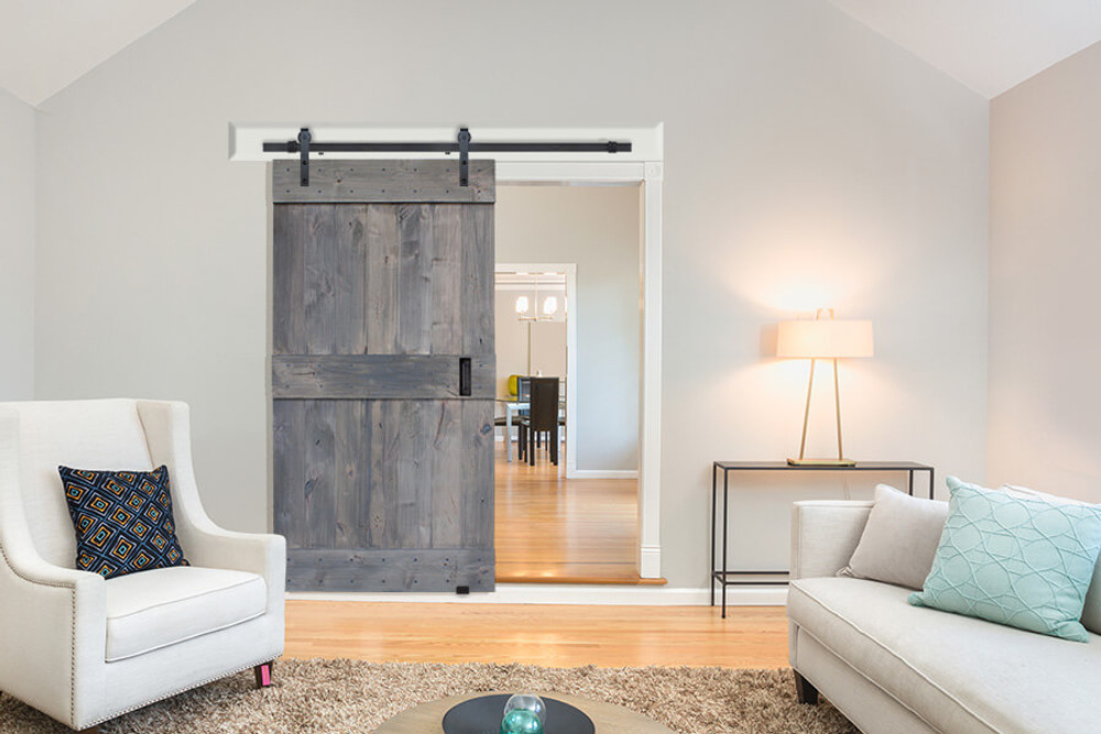​A Look at Classic BarnCraft Barn Doors' Mid Rail Plank Barn Door