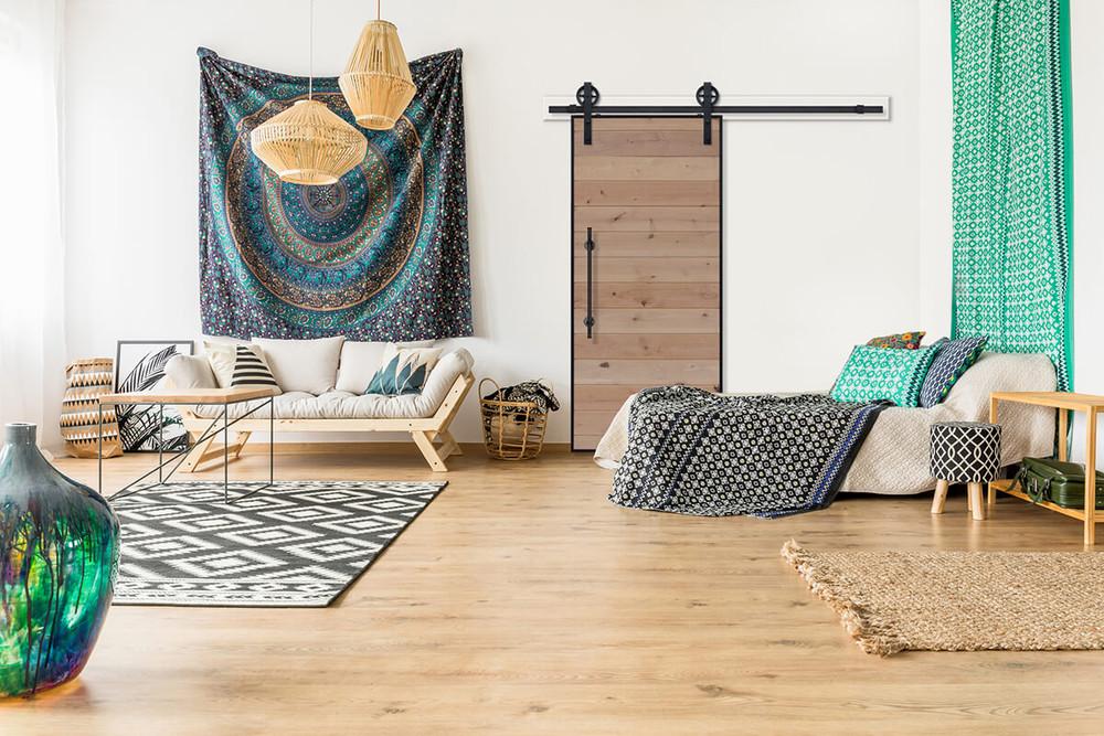 A Guide to Interior Design Styles: Boho Farmhouse