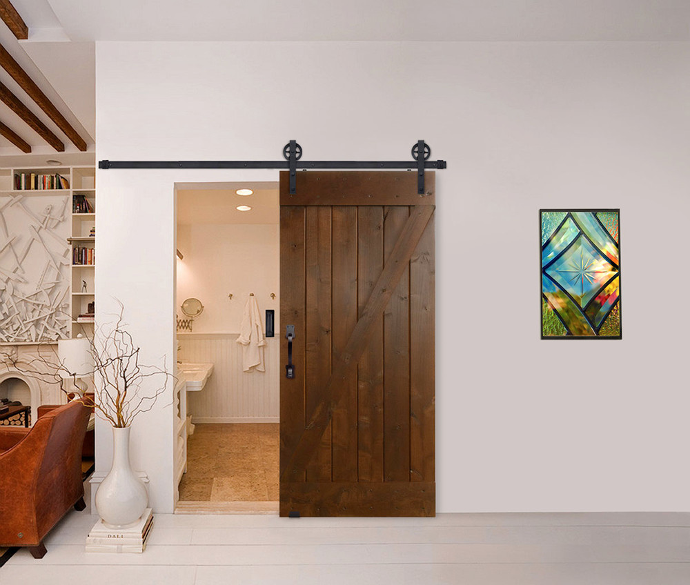 Door & Hardware Spotlight: Z Barn Door + Vintage Hardware Kit