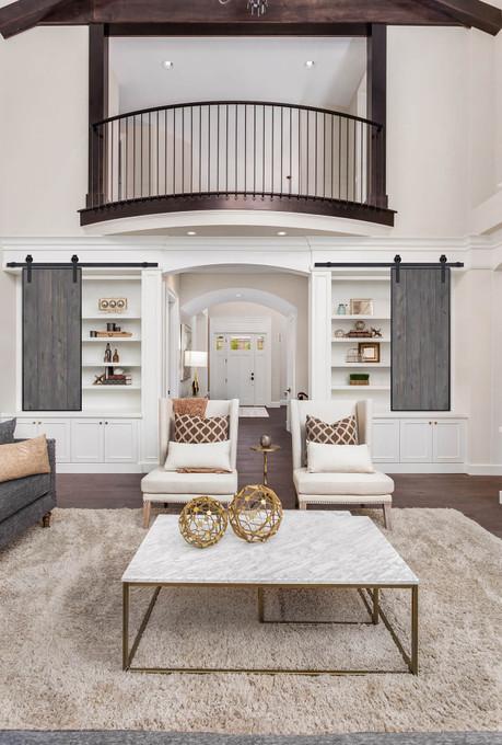 Repurpose Modern Barn Doors Into Furniture