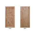 X Two Panel Barn Door