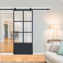 Modern French 6 Lite Door with Clear glass