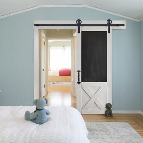 X Blackboard Barn Door