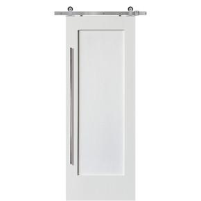 Single Craftsman 1 Panel MDF Barn Door