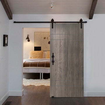 Modern Inglewood Birch Barn Door