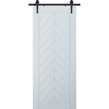 Chevron Barn Door