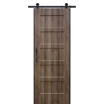 5 Panel Shaker with monaco wood grain finish