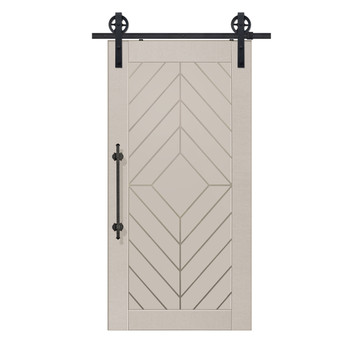 Single Lynnwood MDF Barn Door