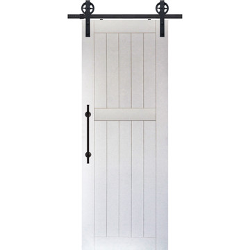 2 Panel MDF Bungalow Barn DOor