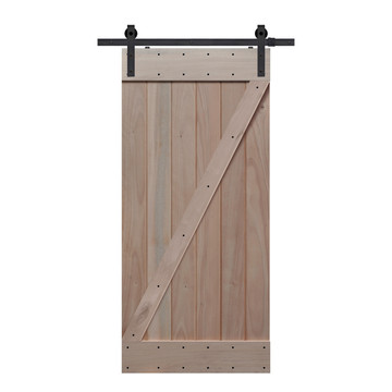 BarnCraft Z Barn Door Unfinished