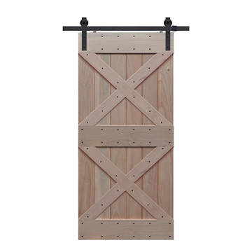 BarnCraft Double X barn door