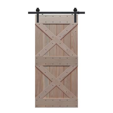 BarnCraft Double X barn door