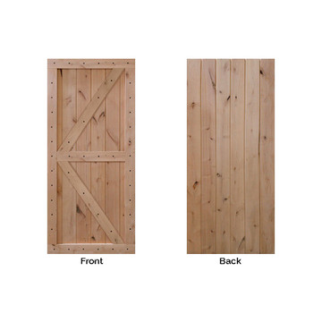 barncraft z two panel front and back