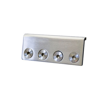 stainless steel rail connector