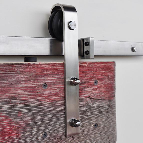 Single Stainless Steel Slade Barn Door Roller
