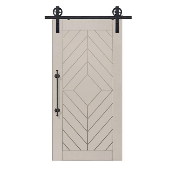 Single Lynnwood MDF Barn Door