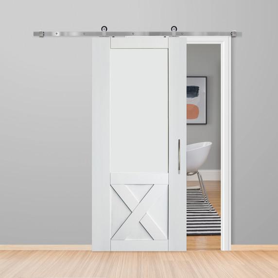 Half X Barn Door