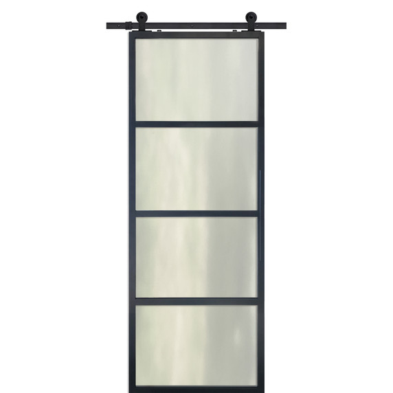 Modern French Door with could glass